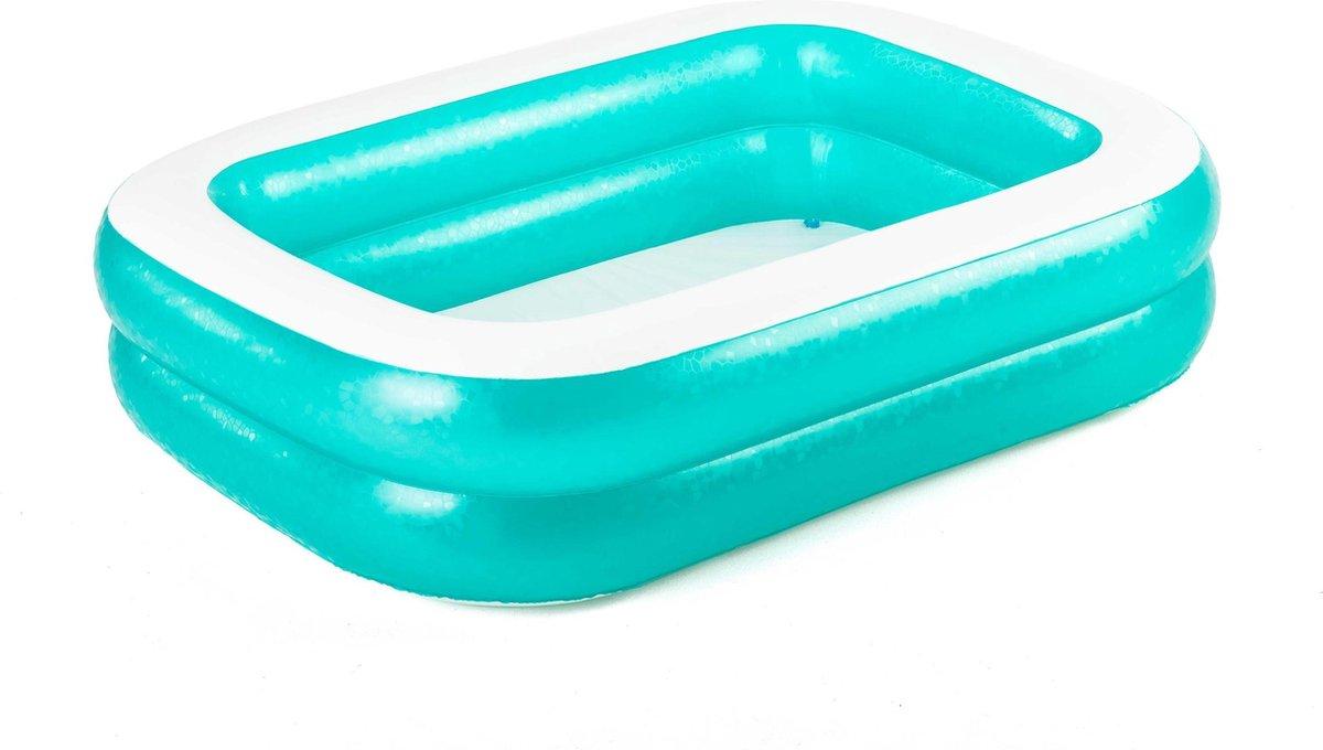 Bestway - Vierkant Opblaasbaar Zwembad - 201x150x51 cm - 450L