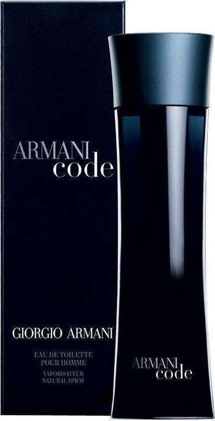 Giorgio Armani Armani Code 200 ml - Eau de Toilette - Herenparfum - Armani