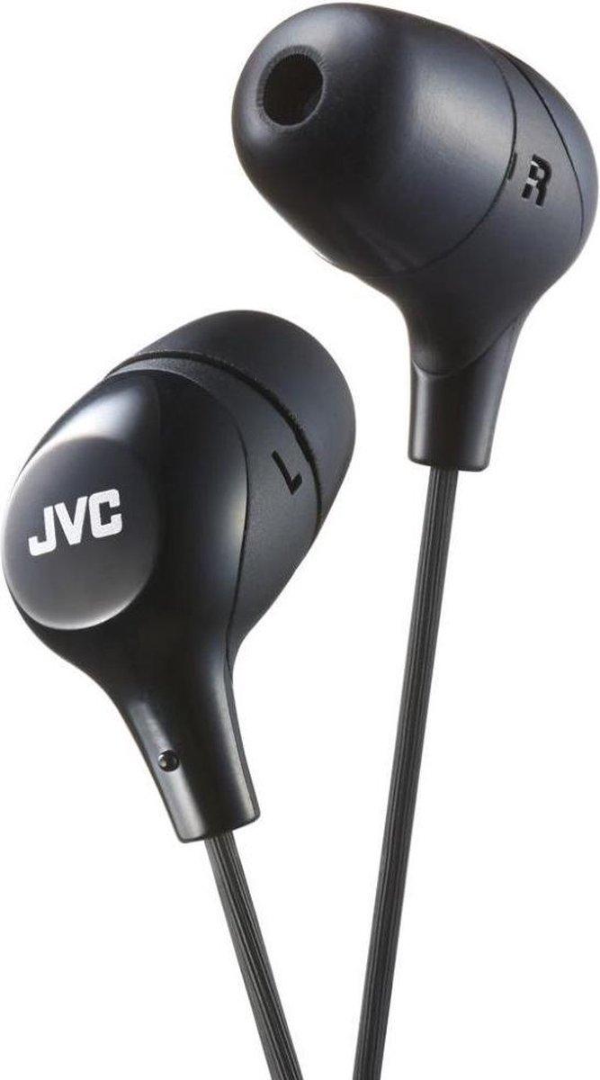 JVC Oortelefoon HA-FX38 In-Ear Zwart
