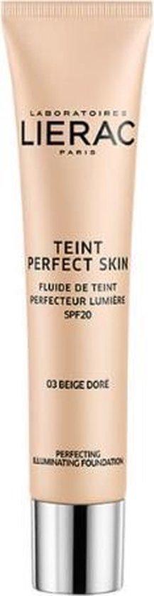 Lierac Foundation Teint Perfect Skin Fluide de Teint Perfecteur Lumière 03 Golden Beige