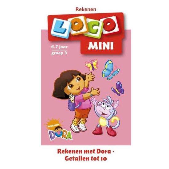 Mini Loco Rekenen met Dora Getallen tot 10 - M. Junga |