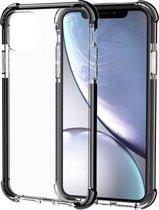 Schokbestendige TPU + acryl beschermhoes voor iPhone 11 Pro (zwart)