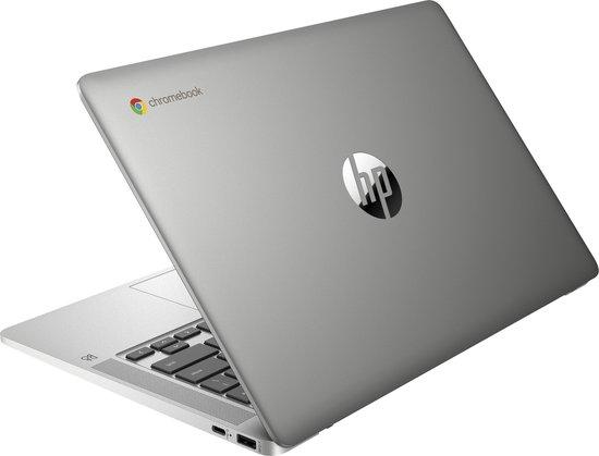 "HP Chromebook 14a-na0053nd LPDDR4-SDRAM 35,6 cm (14"") 1920 x 1080 Pixels Intel® Celeron® 4 GB 64 GB eMMC Wi-Fi 5 (802.11ac) Chrome OS Zilver"