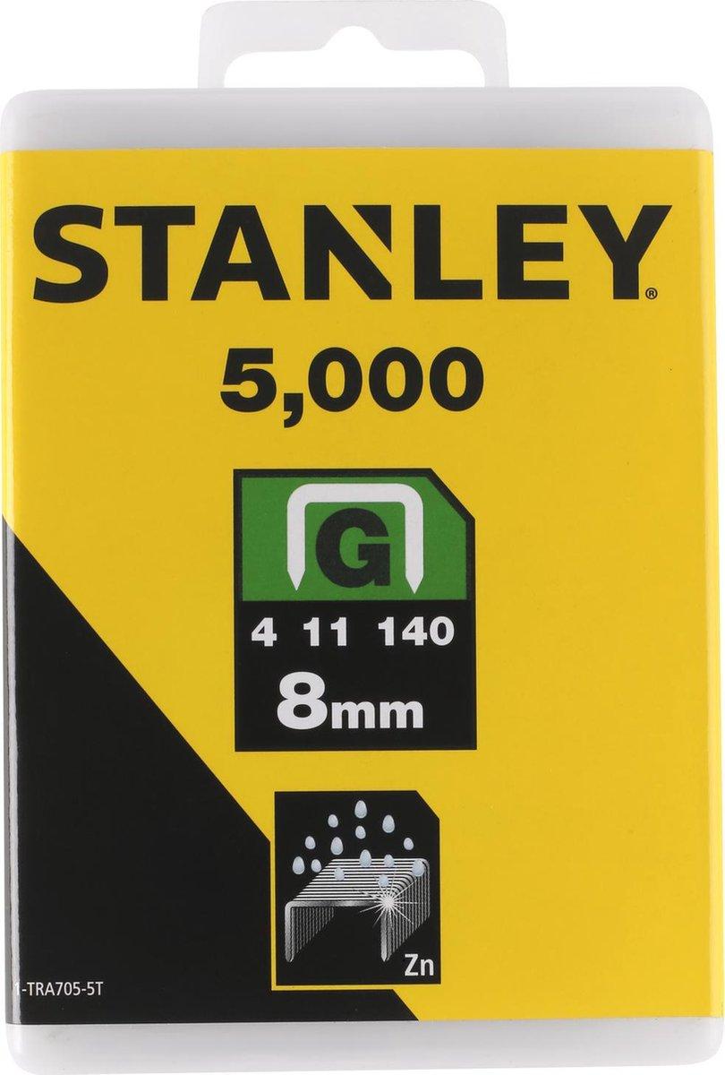 STANLEY Nieten 5000 stuks - 8mm - Type G