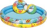 Bestway - Opblaasbaar Zwembad inclusief accessoires - 122 x 20 cm