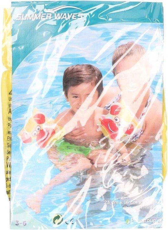 Blauw/roze krab zwembandjes - Zwemvleugels - Zwem armbanden - Veilig zwemmen
