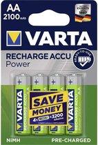 Varta - 4 x AA Ready 2 Use Recharge Accu - 2100 mAh