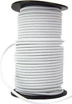 10 meter elastiek voor mondkapjes - 2 mm - CREME