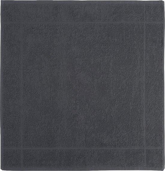 Clarysse Keukendoek Antraciet 50x50cm 6 stuks