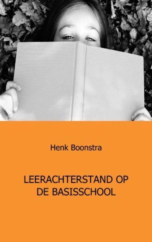 Leerachterstand op de basisschoool - Henk Boonstra pdf epub