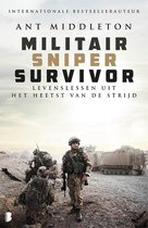Boek cover Militair, sniper, survivor van Ant Middleton