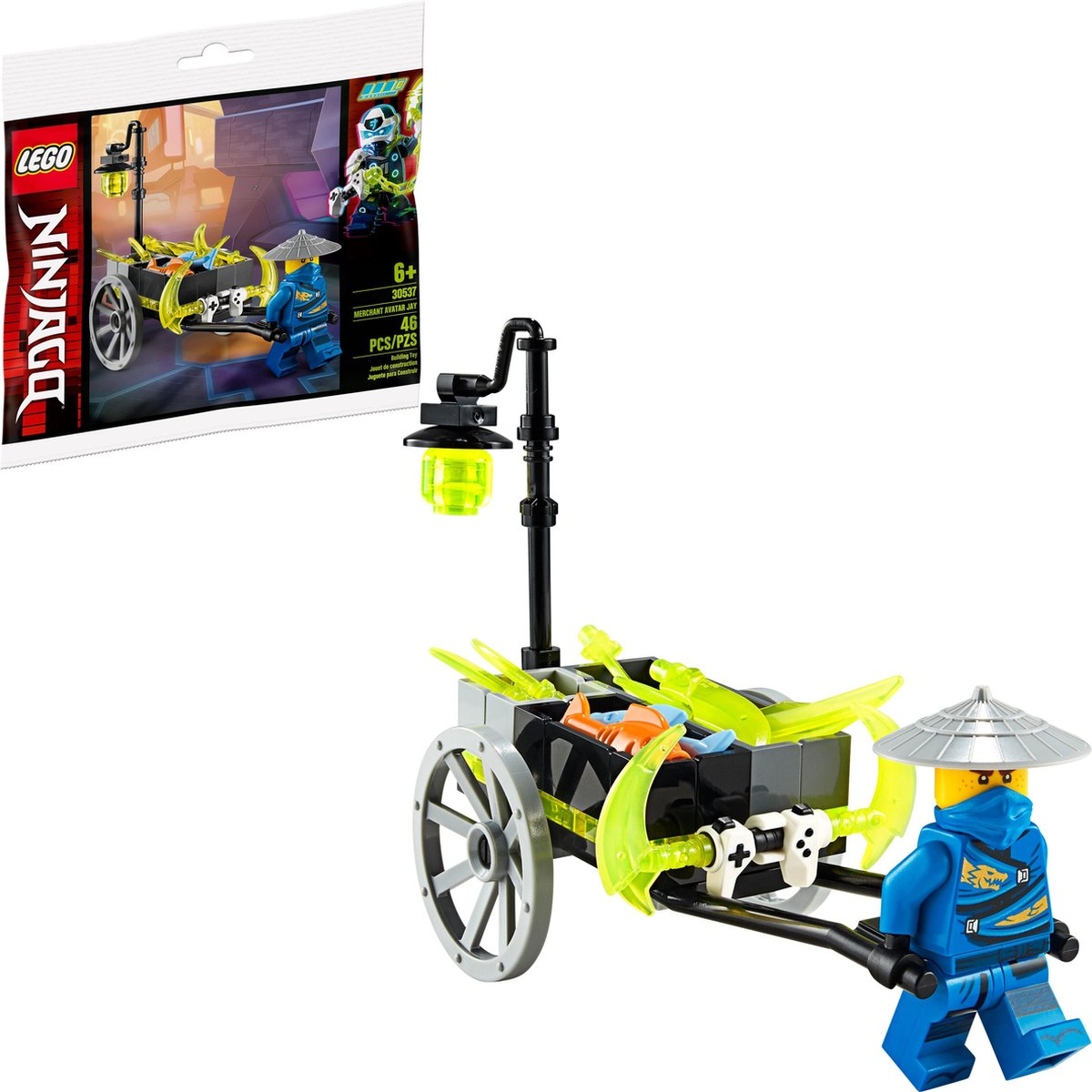 LEGO 30537 Merchant Avatar Jay polybag