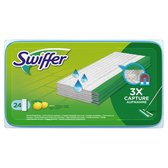 Swiffer Vloerreiniger Met Frisse Citroengeur - 24 Stuks - Navul Stofdoekjes