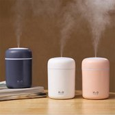 300 ML Aroma Diffuser met Sfeer/Nachtlampje – Geur verdamper – Luchtbevochtiger – Vernevelaar – Etherische Olie  - Elektrische Geurverspreider – Aromatherapie – Cadeau Tip - Wit