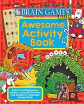 Brain Games Kids - Awesome Activity Book - 40 Pages - Pi Kids