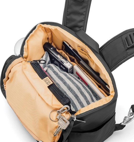 Pacsafe Citysafe CS300 Anti diefstal Backpack 14,9 L Zwart (Black)