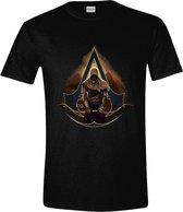 ASSASSIN CREED ORIGINS - T-Shirt Pyramids Black (XXL)
