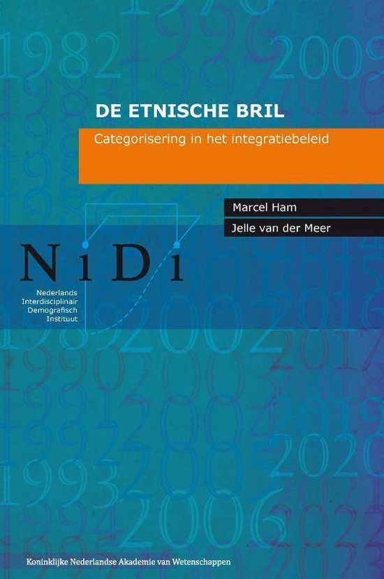 Boek cover NiDi Boek 84 -   De etnische bril van Marcel Ham (Paperback)