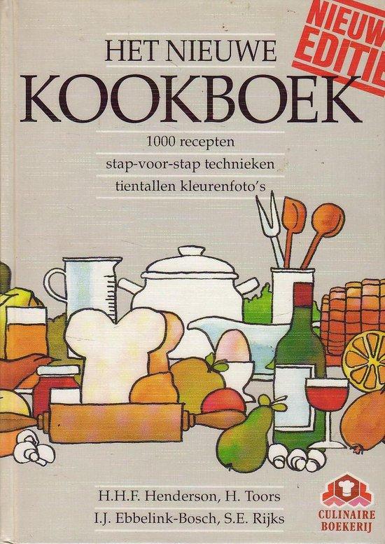 NIEUWE KOOKBOEK - H.H.F. Henderson |