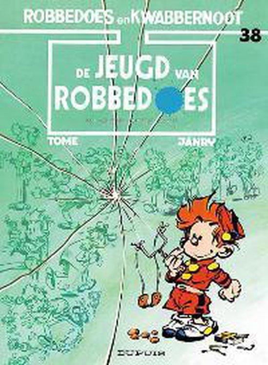 Cover van het boek 'Robbedoes / 38 De jeugd van Robbedoes'
