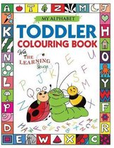 My Alphabet Toddler Colouring Book with The Learning Bugs