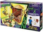 Teenage Mutant Hero Turtles Z-Line Water Tower Wash Out- Speelset