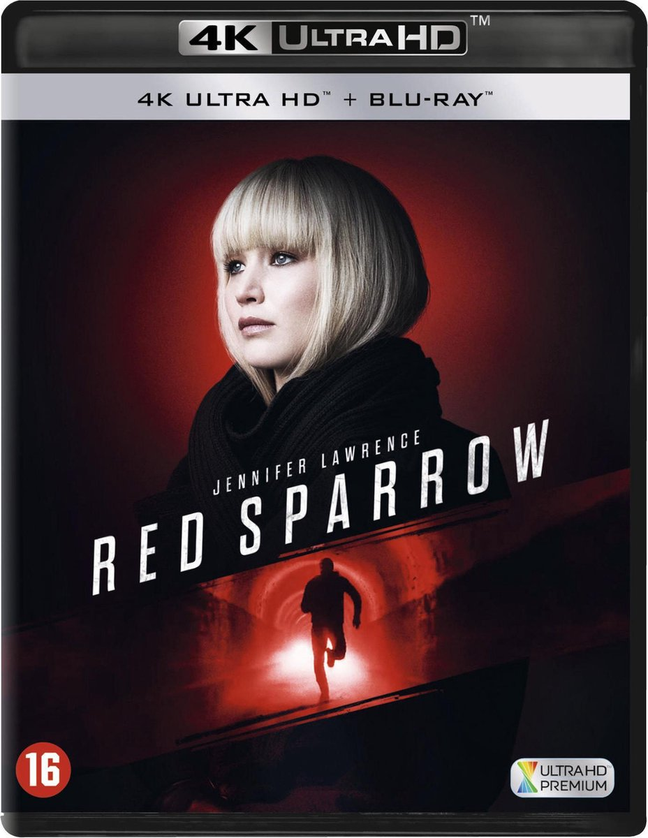 Red Sparrow (4K Ultra HD Blu-ray)-