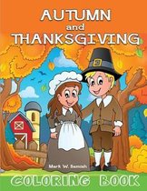 Autumn and Thanksgiving Coloring Book