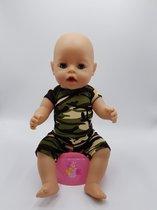 B-Merk Baby Born legerpakje