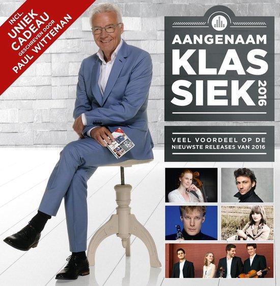 CD cover van Aangenaam Klassiek 2016 van Aangenaam Klassiek