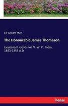 The Honourable James Thomason