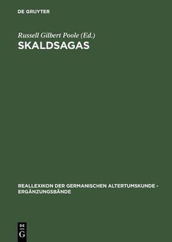 Boek cover Skaldsagas van Hans-Ulrich Gilbert Thamer (Hardcover)