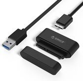 20UTS-U3 USB 3.0 naar SATA adapterkabel voor harde schijf voor 2,5-inch HDD / SSD, ondersteuning OTG-functie (zwart)
