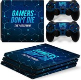 Gamers - PS4 Pro Console Skins PlayStation Stickers