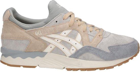 Asics - Heren Sneakers Gel-Lyte V Glacier Grey/Cream - Beige - Maat 41 1/2