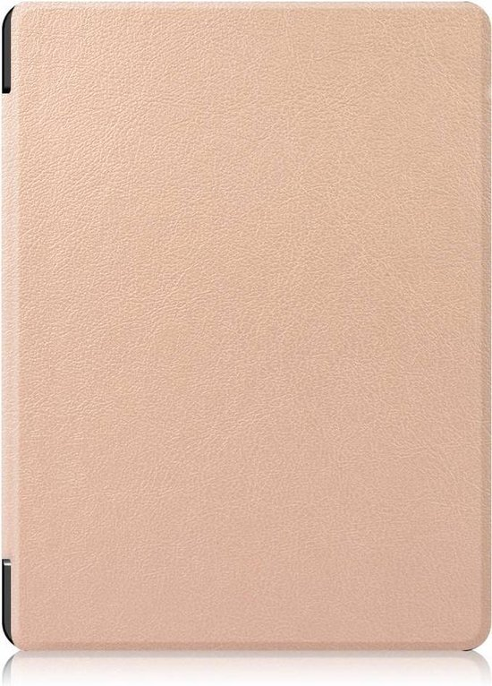 Lunso - sleepcover hoes - Kobo Aura H20 edition 2 (6.8 inch) - Goud - Lunso