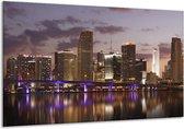 Canvas schilderij Uitzicht | Grijs, Paars, Bruin | 120x70cm 1Luik