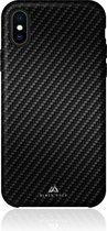 Black Rock Flex Carbon Backcover iPhone X / Xs hoesje - Zwart