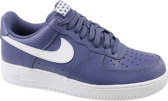 Nike Air Force 1 07 AA4083-401, Mannen, Paars, Sneakers maat: 45.5 EU