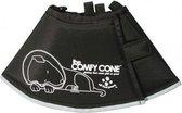 Comfy Cone Hondenkap Zwart S 24-30 CM / 14 CM HOOG