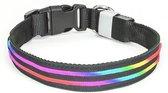 LED Halsband Oplaadbaar Multicolor 60 - 80cm PX1 Hilox