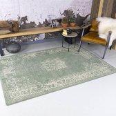 Vintage vloerkleed - Wonder groen 185 x 275cm