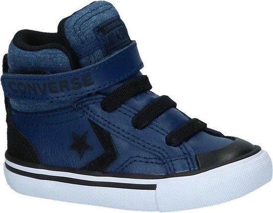 Converse Jongens Sneakers Pro Blaze Strap-hi - Blauw - Maat 24