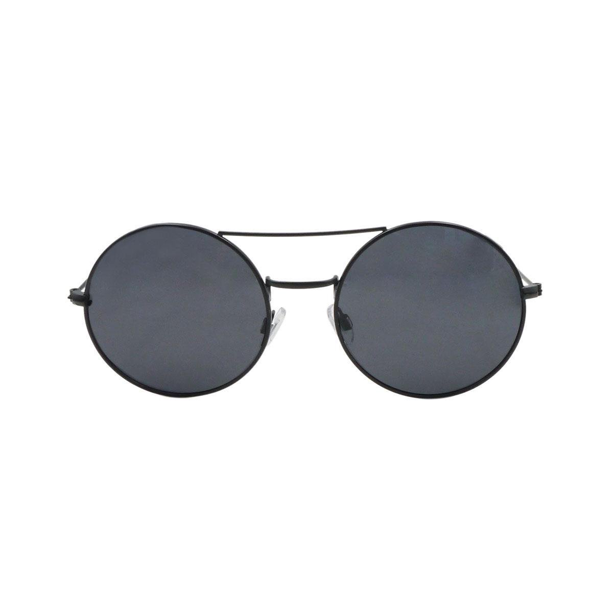 Ocean Sunglasses - Zonnebril - Unisex - 10-3_CIRCLE_MATTEBLACK-SMOKE - Ocean Sunglasses