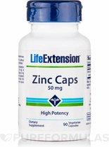 Zinkcapsules hoge potentie 50 mg (90 Veggie Caps) - Life Extension