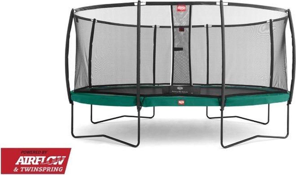 BERG trampoline Grand Champion 470 + Safety Net Deluxe