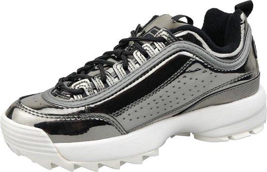 Fila Disruptor M Wmn 1010441 04X, Vrouwen, Zilver, Sneakers maat: 39 EU