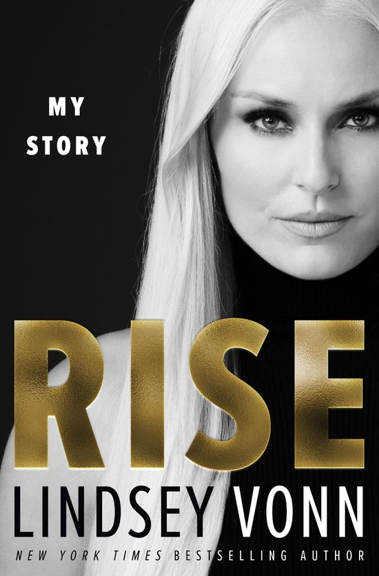 Boek cover Rise van Lindsey Vonn (Onbekend)
