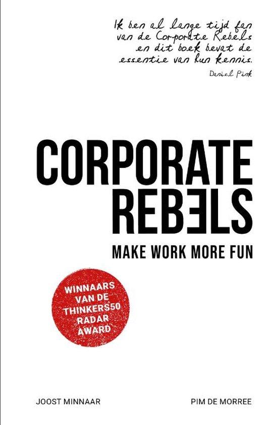Boek cover Corporate Rebels van Joost Minnaar (Paperback)