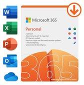 Microsoft 365 Personal - Nederlands - 1 jaar abonnement (download)